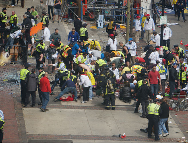 the boston bombing Anyone with an active brain cell on duty can see that the version of events given by the dying mainstream media surrounding the boston marathon bombing does not add up one bit.