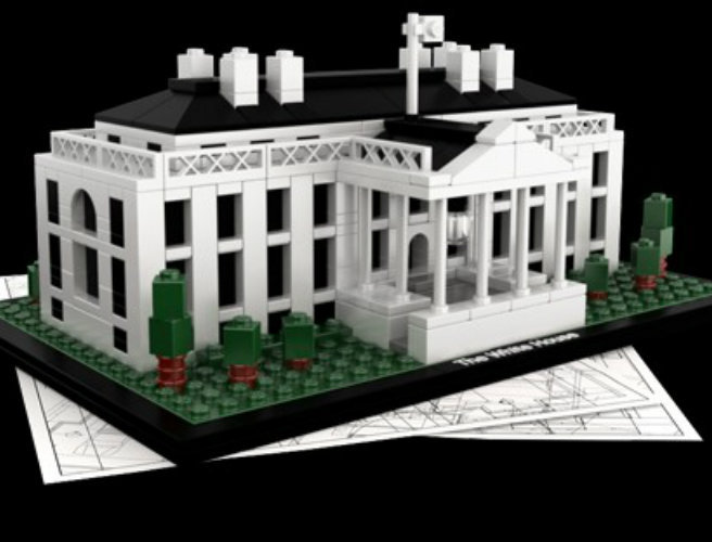 How many White Houses could you build out of the world's Lego...