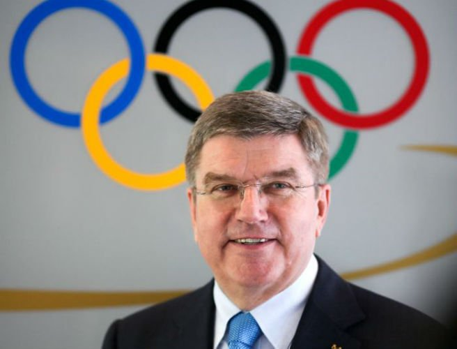 "IOC president defends stance of not using ""nuclear option"" regarding Russia's Olympic involvement"