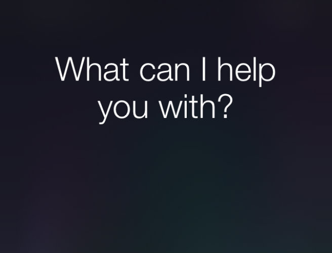 Here's the full list of what Siri can do