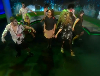 BBC Newsnight goes all Thriller for Halloween
