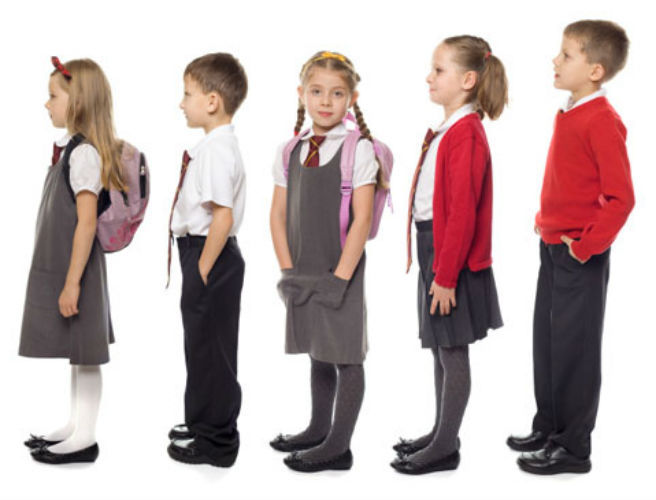 'Generic uniforms could help to ease the burden on parents' says cabinet minister