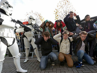 PICTURES: Hundreds queue at Croke Park for Star Wars casting call