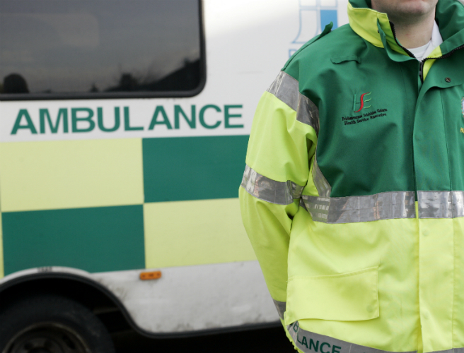 Construction worker injured in Carlow shopping centre