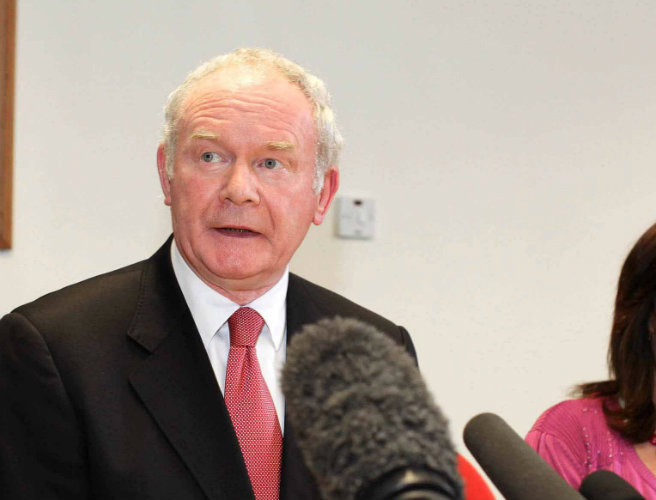 DUP call on McGuinness to retract PSNI comments