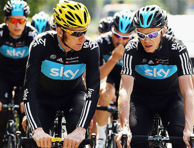 "Bradley Wiggins: Team Sky are being scrutinised for ""staying within the speed limit"""