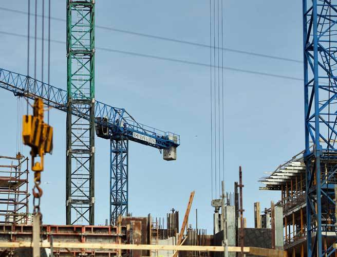 Construction growth slowed in April