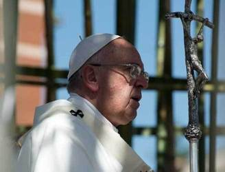 Pope begs forgiveness from clerical sex abuse survivors