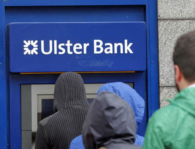 Why is Ulster Bank getting fined for breaking money laundering and terrorist financing rules?