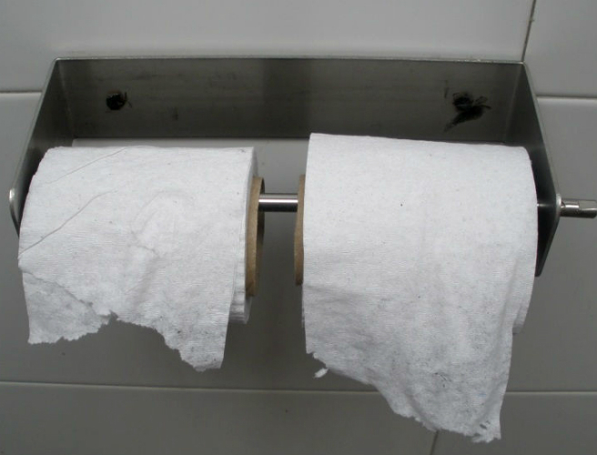 Housekeepers spend 10 million hours a year folding toilet roll