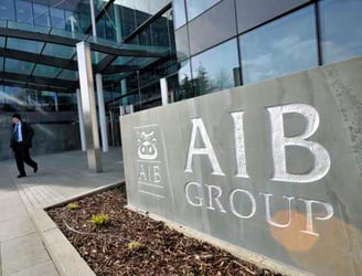 Will AIB shares be offered to the public as part of its IPO?