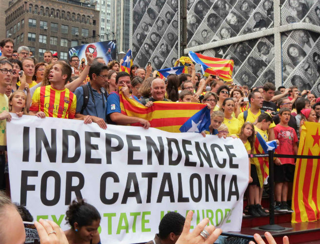 More protests are expected in Catalonia today