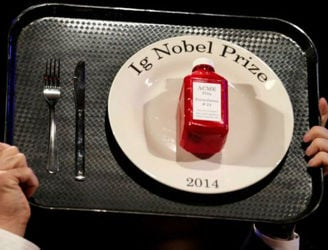 The winners of this year's 'Ig Nobel Prize' are equal parts genius and bonkers