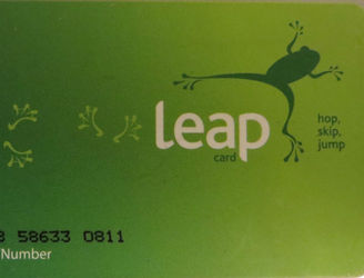 Here's how your Leap Card can be used to make charitable donations