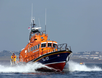 Man rescued after attempting to swim to Dalkey Island