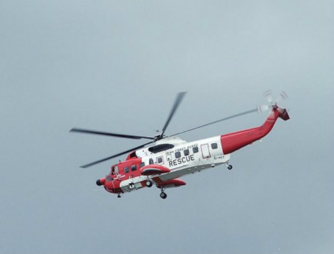 Crew member airlifted from ship off Cork coast