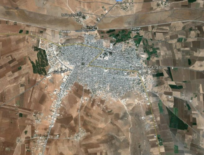 Fighting reported to have intensified in Syrian border town of