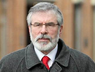 Gerry Adams apologises for using racial slur on Twitter