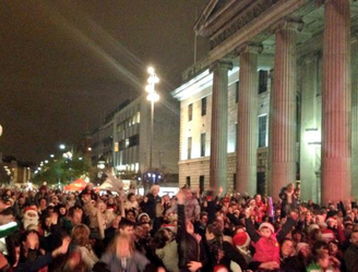 It's official. Last night Dublin held the world's largest christmas jumper gathering
