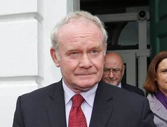 "McGuinness: Others ""need to put up or shut up"" on claims of Sinn Fein crime links"