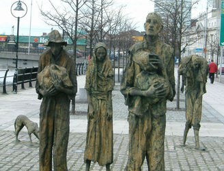 Famine Memorial Day Bill introduced to the Dáil