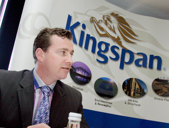 Kingspan expects a 30% profit boost in 2016
