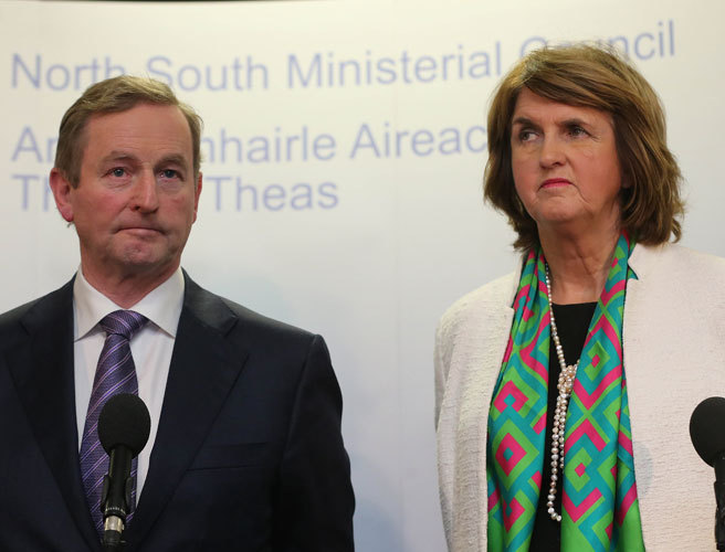 WATCH: Taoiseach and Tanaiste say Gerry Adams has questions to answer over McGahon allegations