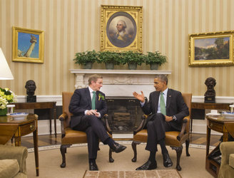 Enda Kenny cuts short St Patrick's Day visit to Washington
