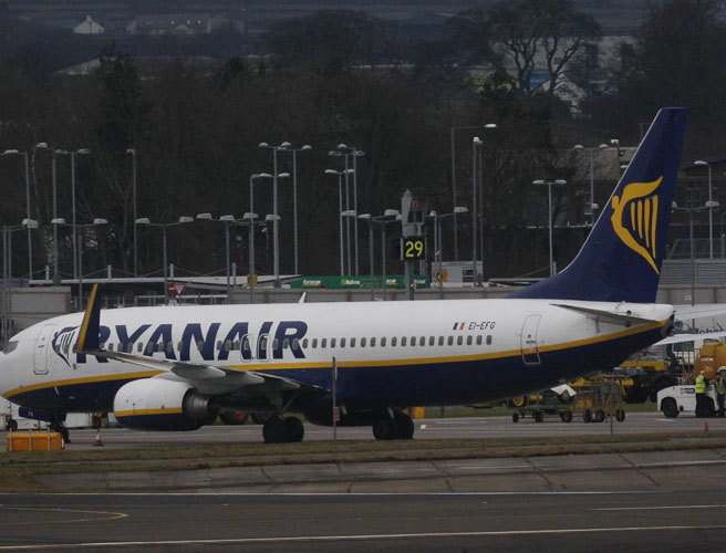 Ryanair cuts carry-on luggage allowance to stem delays
