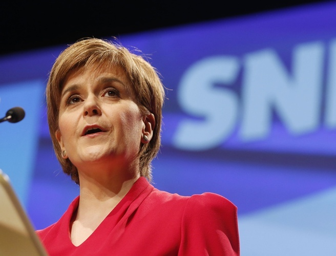 Sturgeon insists there will be a second referendum