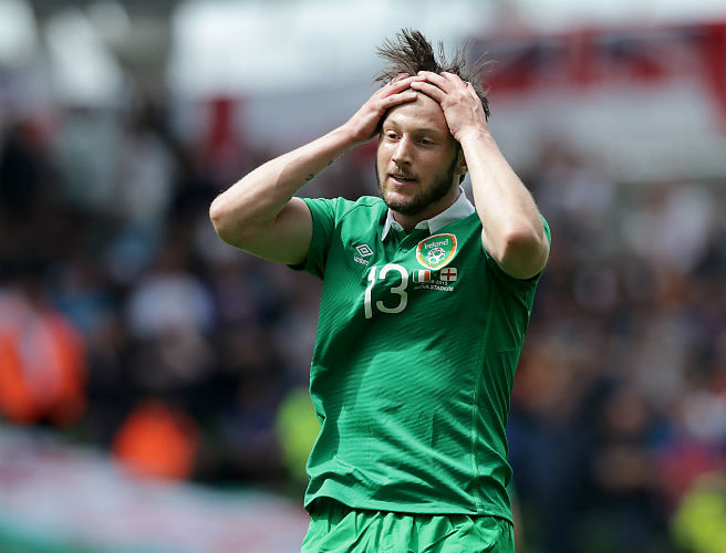 Pre-Euro 2016 friendlies blow for Ireland's Harry Arter
