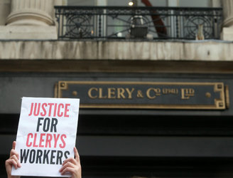 Clerys customers warned they may have lost any cash deposits or money spent on vouchers