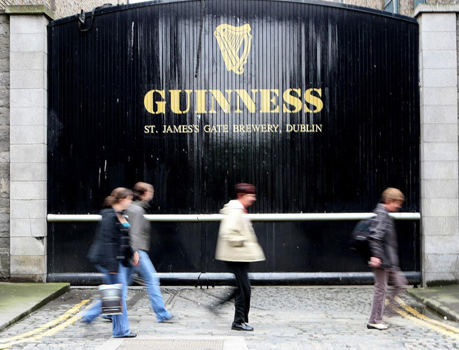 Guinness Storehouse remains Ireland's most popular attraction