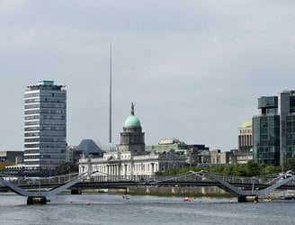 Dublin voted the second friendliest city in the world