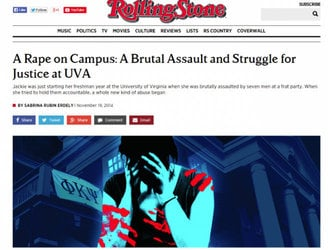 Rolling Stone editor steps down as retracted gang rape story spawns fresh lawsuits