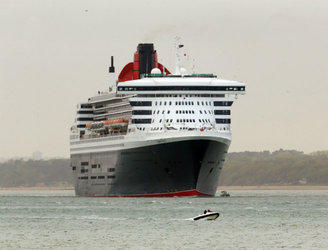 Search for crew member of Queen Mary 2 cruise ship who fell overboard called off