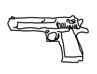Man attempts bank robbery with drawing of gun