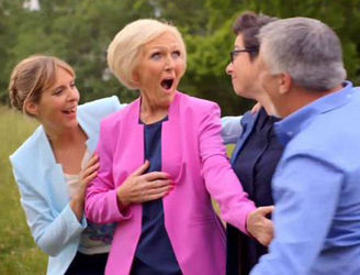 Egg on your face - Mary Berry accidentally reveals next GBBO contestant to exit
