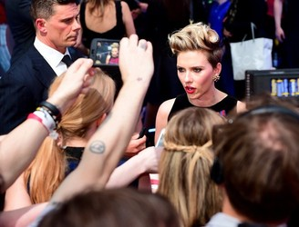 Johansson left scarlet as steamy French novel doesn't get lost in translation