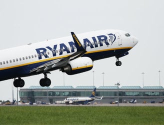 Ryanair sees major increase in passenger numbers