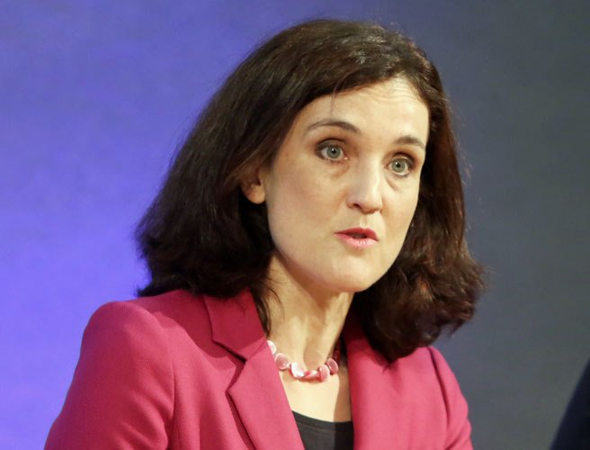 """No one wants it either side of the border"" - Theresa Villiers"