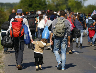 Germany expecting one million migrants and refugees per year