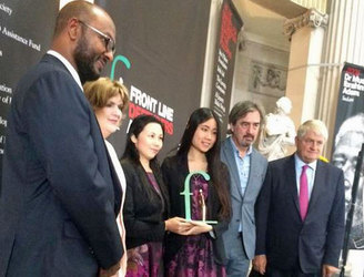Guo Feixiong receives Frontline Defenders award for human rights work