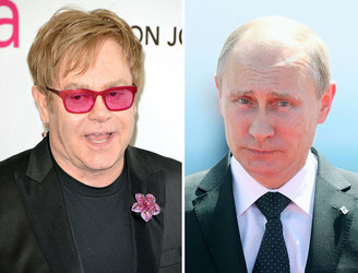 Singer Elton John is duped by Putin pranksters in phone call