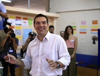 Victorious Tsipras confirms second Syriza coalition with ANEL