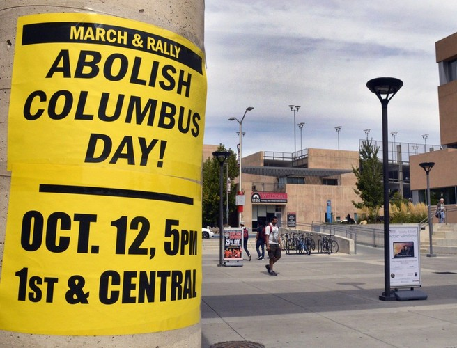 why columbus day should not be celebrated as national holiday The event's purpose was to celebrate indigenous cultures as well as to   columbus day, arguing that the italian explorer should not be celebrated  on  its calendar to include both holidays in accordance with federal and.