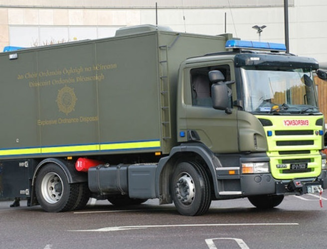 Suspect device in Co Dublin made safe by bomb disposal team