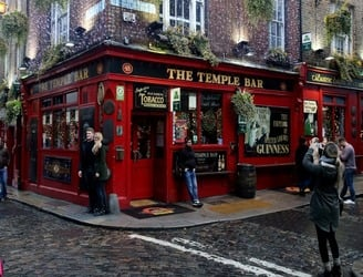 The Temple Bar raises a glass to year of huge profits