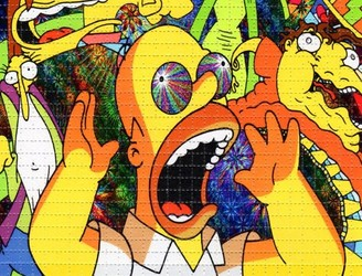"""Springfield and Shelbyville are warring brains"" – Man watches 'The Simpsons' on LSD"