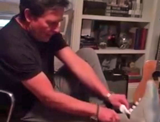 "WATCH: Michael J Fox models ""insane"" first self-lacing shoes"